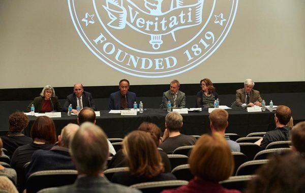 Panelists for inauguration weekend.