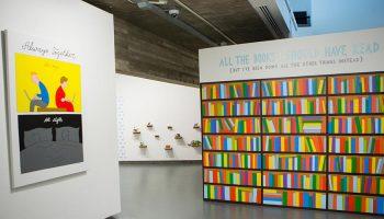 'Bookshelf, 2016' exhibit
