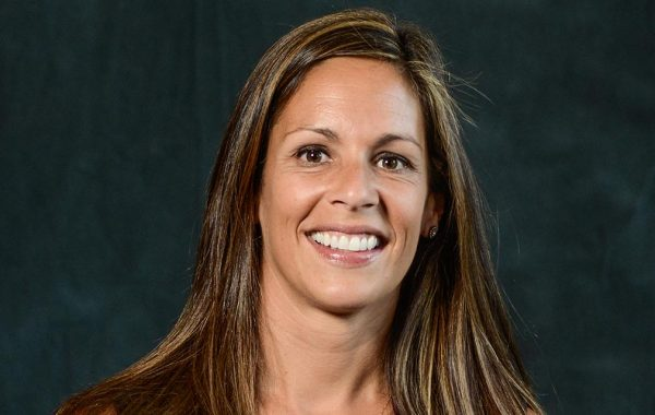Portrait of women's lacrosse head coach Heather Young.