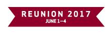 Reunion 2017: June 1–4