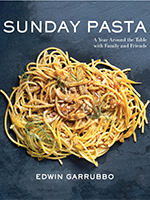 "Photo of the cover of the book ""Sunday Pasta"""