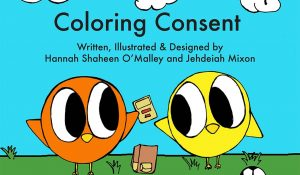 Coloring Consent book cover