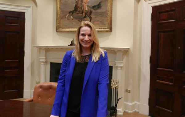 Kristie Canegallo in the White House