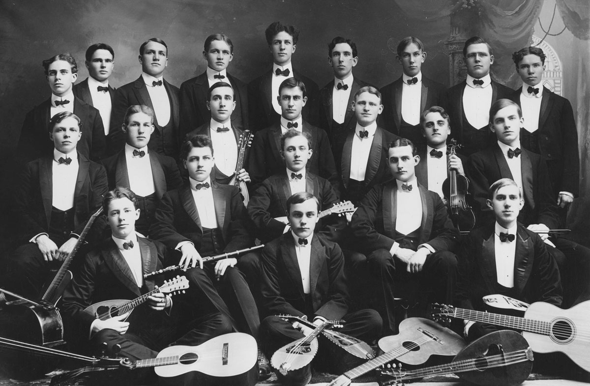 Archival photo of the Sacred Music Society
