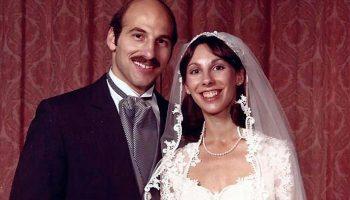 Wedding photo of Robin Goldin Como '75 and Bob Como '75