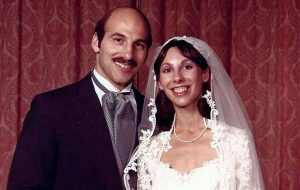 Wedding photo of Bob '75 and Robin (Goldin) Como '75