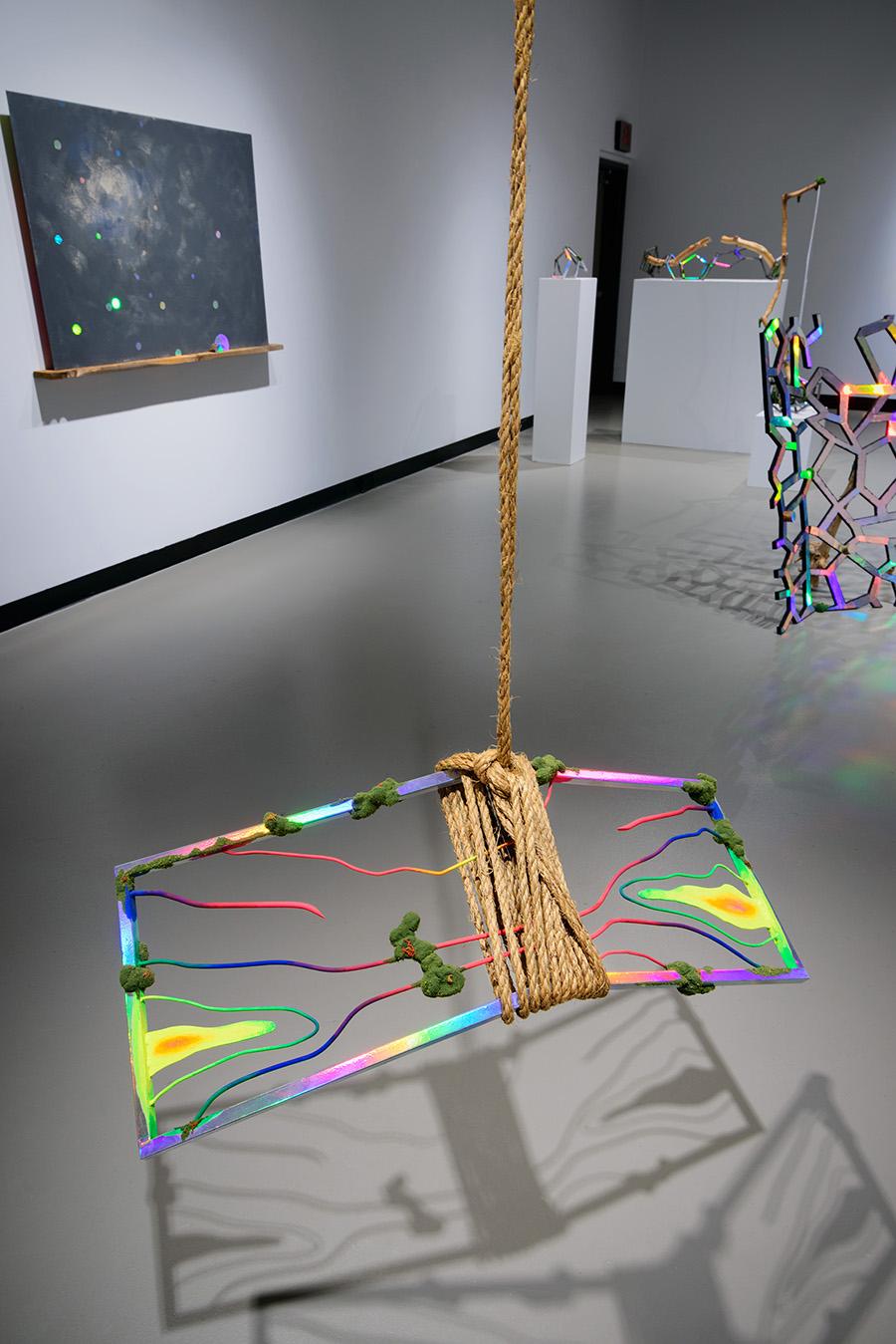 Photo of Through. exhibition