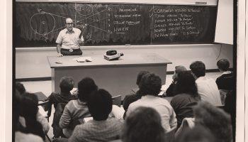 Tony Aveni in the classroom