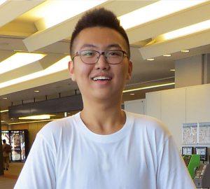 """Hongyi """"Steven"""" Huang '17"""