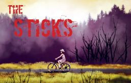 """Publicity poster for """"The Sticks"""""""