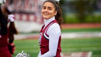 Colgate University cheerleader