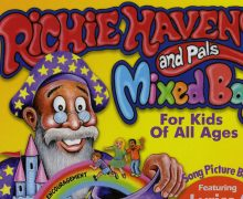 """Cover of Kyle Morris' book, """"Richie Havens and Pals"""""""