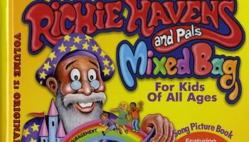 "Cover of Kyle Morris' book, ""Richie Havens and Pals"""