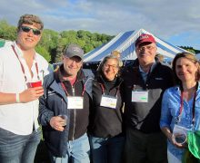 Bruce Selleck and others at Reunion