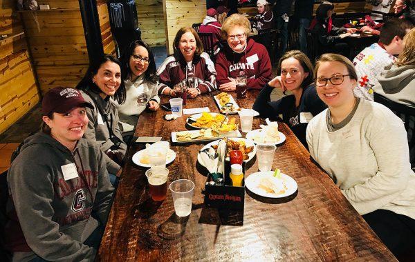 Colgaters at dinner in Paris