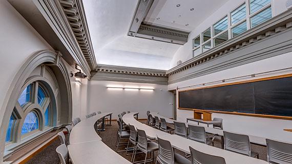 New Lathrop classroom