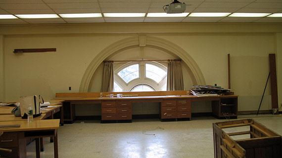 Old Lathrop classroom