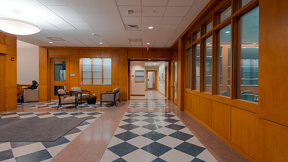 Lathrop Hall lobby