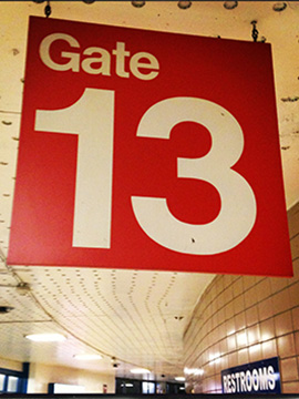 Gate 13 photo