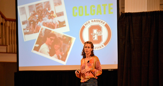 Amy Jurkowitz '85 discusses her work as a social entrepreneur.