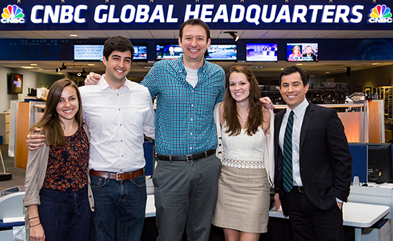 CNBC's Colgate interns and mentors