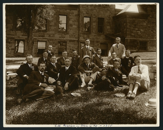 The Class of 1895 at their 20th Reunion