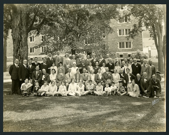 Class of 1905 in 1930 at Colgate Reunion