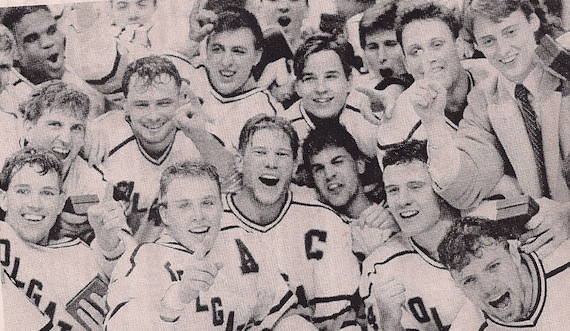 The 1990 Colgate Men's Hockey team