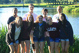 The Maroon-News Pre-Orientation group
