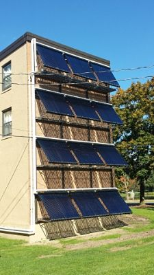 Solar Panels at Colgate University