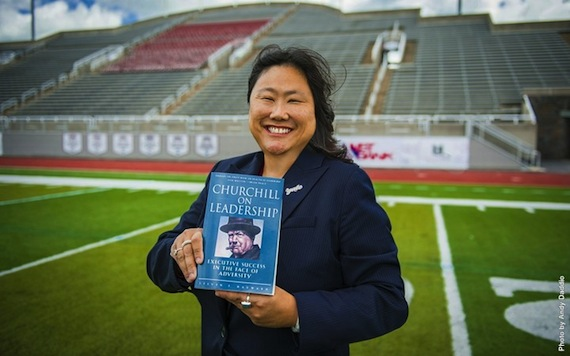 Vicky Chun '91 MA '94 – Athletic director at Colgate University