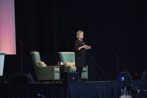 Kerschner Family Global Leaders Lecture speaker Hillary Clinton