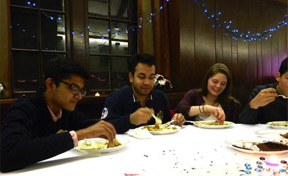 Diwali meal