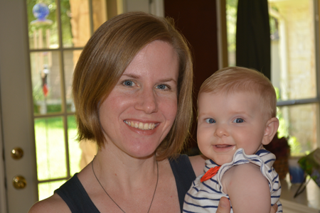 Lori Brier Strong '98 is a certified infant and child sleep consultant.