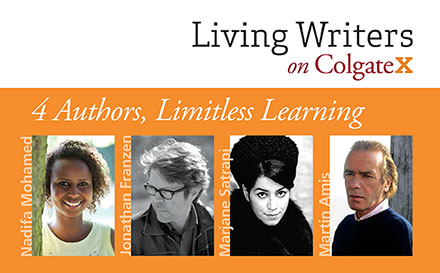 Living Writers on ColgateX