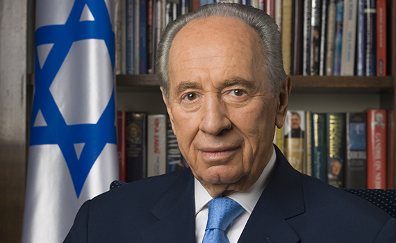 Shimon Peres, former prime minister and president of Israel, will deliver the next address in the Kerschner Family Series Global Leaders at Colgate, October 25.