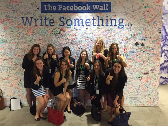 Colgate Women in Computer Science visit tech firms including Facebook