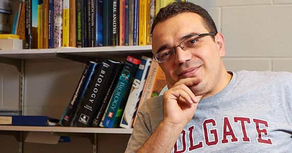 Colgate Professor Ahmet Ay