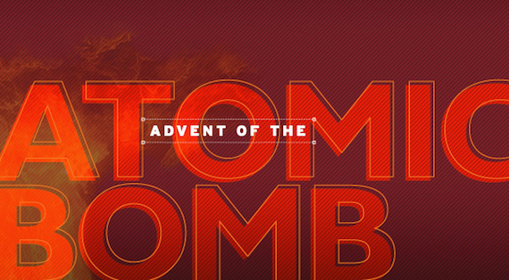 This is the logo for the advent of the atomic bomb.