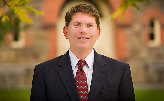 Provost Douglas Hicks