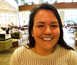 Udall Scholarship recipient Sara Reese.