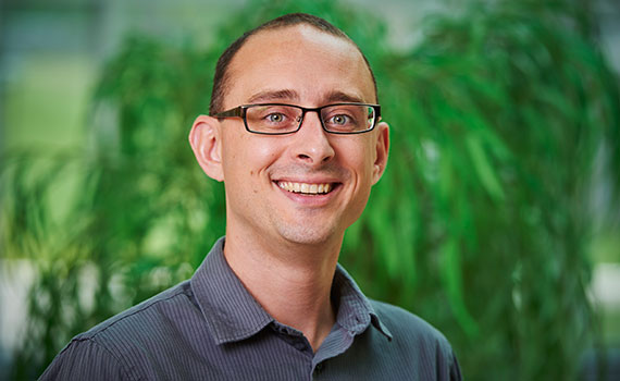 Colgate University economics professor Chad Sparber