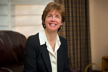 Portrait of Dean of the College Suzy Nelson