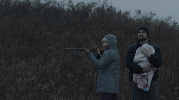 The feature film Here Alone won the Audience Award for Best Narrative Feature at Tribeca