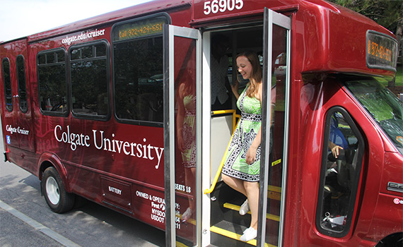 The new Colgate Cruisers are not making the rounds around campus, and in the Village of Hamilton. The service is free and open to the community.