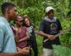 Mark DiOrio / Colgate University Colgate students take a tour of Moore Town, a maroon community village in the Portland Parish, Feb. 26, 2017 in Jamaica.