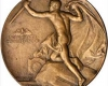 Torches on US Medal for Lifesaving on Railroads (1906)