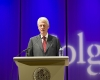 Bill Clinton speaking during Global Leaders 2010.