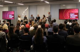 Alumni in the media discuss the future of journalism at a recent panel discussion in NYC.