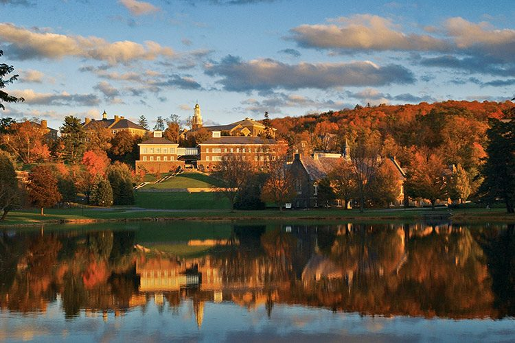 campus in autumn